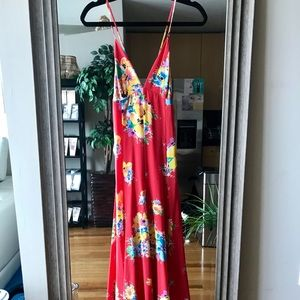 POLO Designer Maxi Dress